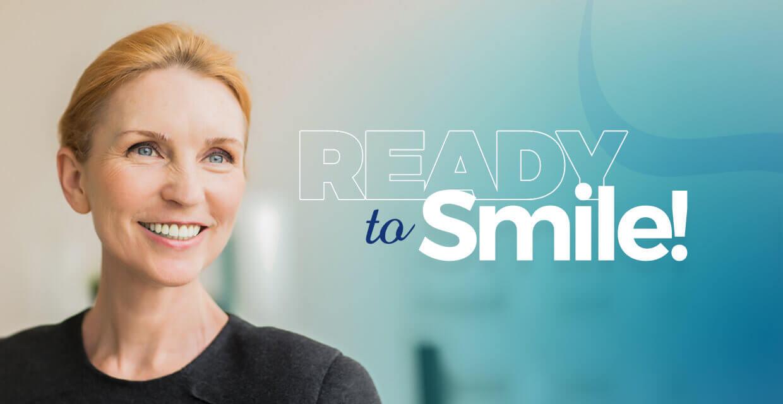 ready to smile !